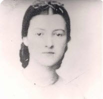 Sarah Catherine Sperry at 18 in Winchester, VA 1861