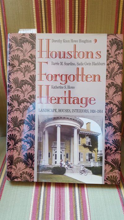 Forgotten Heritage Book on Houston
