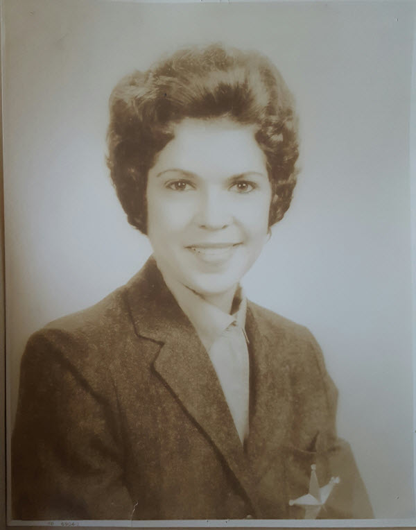 Nancy Clark Ince Darden at UT in the late 1950s