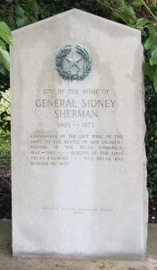 General Sherman Tombstone