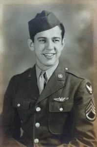 Jack Helm Army Air Corp Portrait